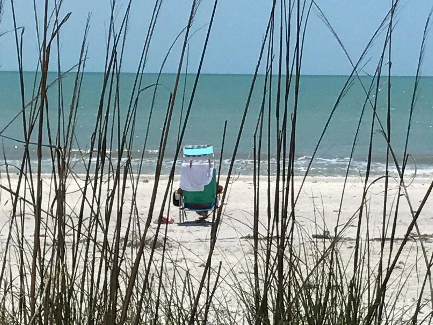 Sandy Beach of Sanibel Island, Periwinkle Cottages